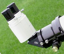 Astro-Physics Stowaway Telescope with optional Baader Binocular Viewer (17,560 bytes)