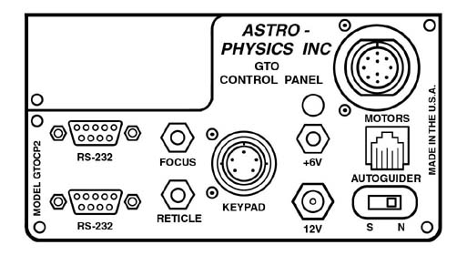 Astro-Physics GTO CPU/Control Panel arrangement (35,940 bytes).