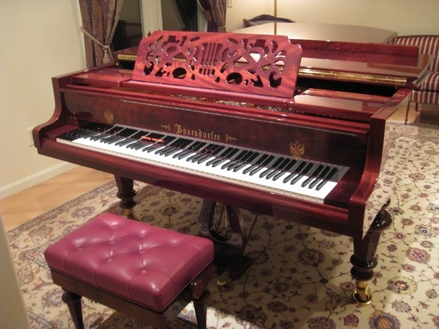 Bosendorfer with CEUS on at home