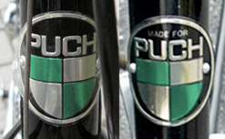 Puch and made for Puch head badges