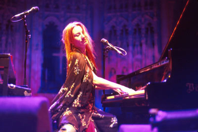 Tori Amos at Her Bosie