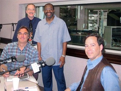 Goeff, Laird, Kojo and Martin in studio (63,079 bytes)