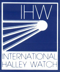 NASA International Halley Watch logo (30,339 bytes)