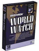 Geochron World Watch screen, animated (27,321 bytes)