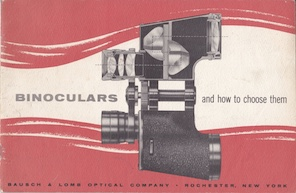 Bausch & Lomb Binoculars And How To Choose Them, 1955