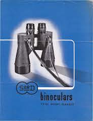 SARD Binoculars 7x 50 Night Glasses brochure