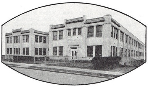 Kollsman Instrument factory, 8008 (80-08) 45th Avenue, Elmhurst, NY c. 1938 (95,392 bytes)