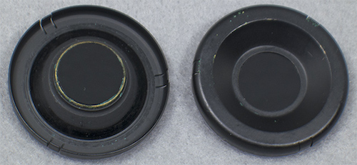 filters top and bottom view