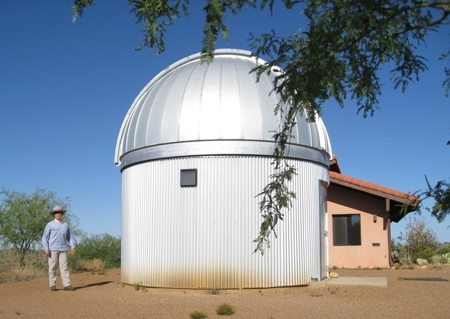 Martin's Observatory at Biosphere 2 (65,120 bytes)