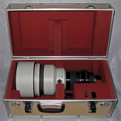 Tochigi Nikon 300mm T2.2 lens in collection of Company Seven's owner (43,436 bytes)