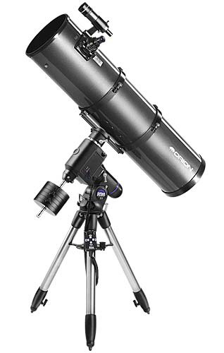 Atlas™ Equatorial Mount showing adjustable Aluminum Field Tripod (35,505 bytes)