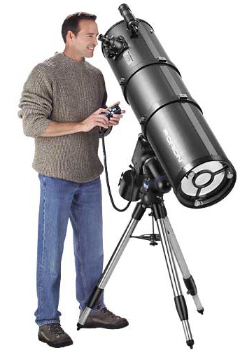 Orion Atlas™ 10 Equatorial Reflector Telescope with standard 9x 50 Finder and 2