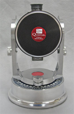 Questar 50th Anniversary Telescope front 23,047 bytes