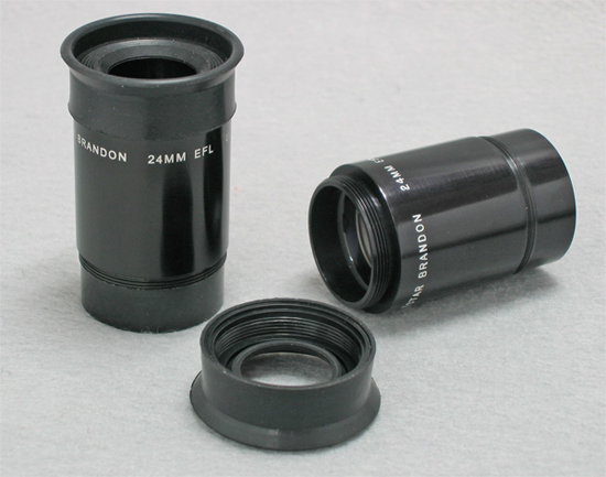 Questar Brandon 24mm Eyepieces (142,161 bytes).