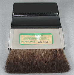 3 inch brush label, in Company Seven's collection (47,717 bytes)