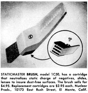 a newly redesigned 1 inch brush announced July 1963 (52,193 bytes)