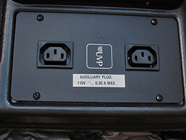 UVP Cabinet C-65 outlets for optional EL Lamp (51,895 bytes)